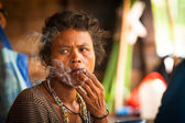 Orang asli en malasia — Foto de Stock