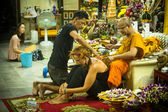 Yantra Tattoos in Thailand — Stock Photo