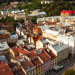 Stock Photo: Top view from Lviv City Hall
