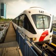 Stock Photo: Monorail train in KualLumpur