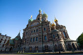 Church of Savior on Spilled Blood in St. Petersburg — Stock Photo