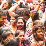 Holi Festival of Colors in Malaysia — Stock Photo
