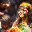 Holi Festival of Colors in Malaysia - Stock Photo