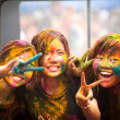 Holi Festival of Colors in Malaysia — Foto de Stock   #25936141