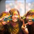 Holi festival Malezya renk — Stok fotoğraf