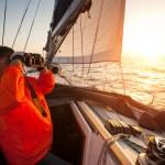 Sailing regatta in Greece — Stock Photo