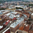 Top view from Lviv City Hall — Stock Photo #25936601
