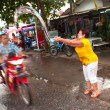 songkran festival in thailand — Stock Photo