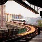 Monorail train in Kuala Lumpur, Malaysia — Stock Photo #25971647