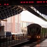 Monorail train in Kuala Lumpur, Malaysia — Stock Photo #25971649