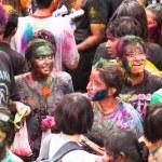 Holi Festival of Colors in Kuala Lumpur, Malaysia — Stock Photo #25971691