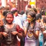 Holi Festival of Colors in Kuala Lumpur, Malaysia — Stock Photo #25971693