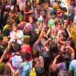 Stock Photo: Holi Festival of Colors in KualLumpur, Malaysia