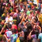 Holi Festiwal kolorów w kuala lumpur, Malezja — Zdjęcie stockowe #25971761