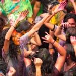 Holi Festival of Colors in Kuala Lumpur, Malaysia — Stock Photo #25971767
