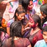 Holi Festival of Colors in Kuala Lumpur, Malaysia — Stock Photo #25971769