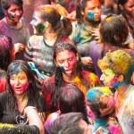 holi festival barev v kuala lumpur, Malajsie — Stock fotografie #25971771