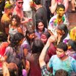Holi Festival of Colors in Kuala Lumpur, Malaysia — Stock Photo #25971773