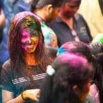 Holi Festival of Colors in Kuala Lumpur, Malaysia — Stock Photo #25971785