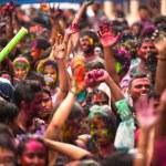 Holi Festiwal kolorów, kuala lumpur, Malezja — Zdjęcie stockowe #25971805