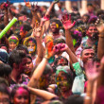 Holi festival de colores, kuala lumpur, Malasia — Foto de Stock   #25971805