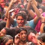 Holi festival de cores, kuala lumpur, Malásia — Fotografia Stock  #25971823