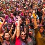 Holi Festival of Colors, Kuala Lumpur, Malaysia — Stock Photo #25971835