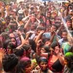 holi festival barev, kuala lumpur, Malajsie — Stock fotografie #25971869