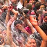 Holi Festival of Colors, Kuala Lumpur, Malaysia — Stock Photo
