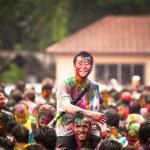 holi festival barev, kuala lumpur, Malajsie — Stock fotografie #25971989