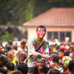 Holi festival de colores, kuala lumpur, Malasia — Foto de Stock   #25971989