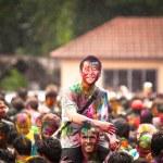 Holi festival renkler, kuala lumpur, Malezya — Stok fotoğraf