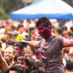 Holi Festival of Colors, Kuala Lumpur, Malaysia — Stock Photo #25972007
