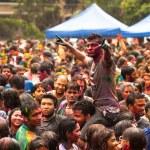 holi festival barev, kuala lumpur, Malajsie — Stock fotografie #25972033