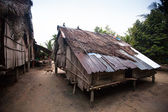 Aldeia de orang asli, malásia — Foto Stock
