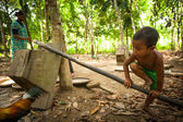 Orang asli i malaysia — Stockfoto