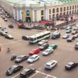 Top view of the Metro and mall Gostiny Dvor on Nevsky Prospect — Stock Video #27497735
