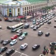 Top view of Metro and mall Gostiny Dvor on Nevsky Prospect — Stock Video #27500077