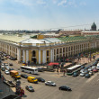 ST.PETERSBURG, RUSSIA - JUN 26: Top view of the Metro and mall Gostiny Dvor on Nevsky Prospect, Jun 26, 2013, SPb, Russia. Station opened on 1967, is one of busiest stations in the entire SPb Metro. — Stock Photo #27530637