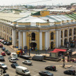 ST.PETERSBURG, RUSSIA - JUN 26: Top view of the Metro and mall Gostiny Dvor on Nevsky Prospect, Jun 26, 2013, SPb, Russia. Station opened on 1967, is one of busiest stations in the entire SPb Metro. — Stock Photo #27530649
