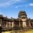 SIEM REAP, CAMBODIA - DEC 13: Angkor Wat - is the largest Hindu temple complex and religious monument in the world, Dec 13, 2012 Siem Reap, Cambodia. It is the country's prime attraction for visitors. — Stock Photo #27530741