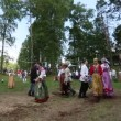 Local people celebrated Ivan Kupala Day — Stock Video