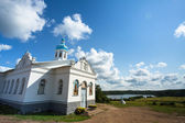 Intercession monastery of Tervenichi (nunnery, orthodox), Russia — Stock Photo
