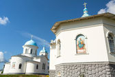 Intercession monastery of Tervenichi, Russia (nunnery, orthodox) — Stock Photo