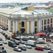 ST.PETERSBURG, RUSSIA - JUN 26: Top view of the Metro and mall Gostiny Dvor on Nevsky Prospect, Jun 26, 2013, SPb, Russia. Station opened on 1967, is one of busiest stations in the entire SPb Metro. — Zdjęcie stockowe