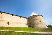 Ancient fortress in Staraya Ladoga, Russia — Stock Photo