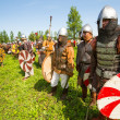 Historical festival in Russia — Stock Photo