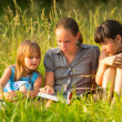 Stock Photo: Three cute little girls