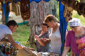 ロシアのイヴァナ kupala を祝う — ストック写真