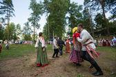 Celebrando ivana kupala en rusia — Foto de Stock
